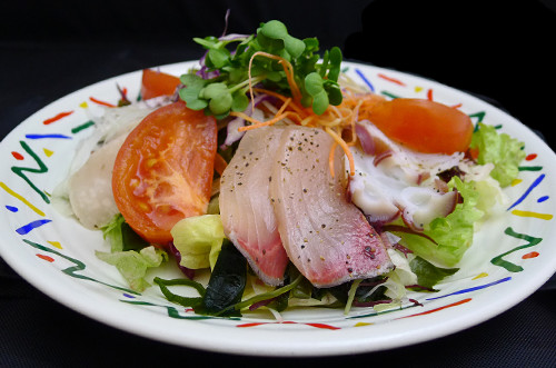 魚貝カルパッチョサラダ