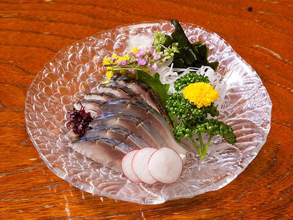 〆鯖とあぶりの土佐酢
