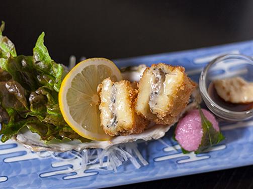 牡蠣のチーズフライ