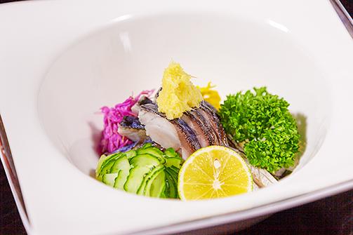 あぶり〆鯖酢の物土佐酢