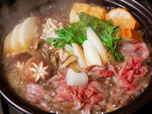 倉石牛こますき焼き鍋