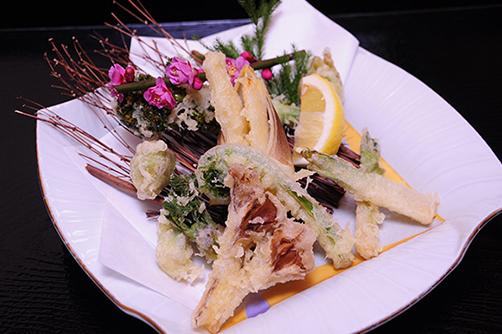 春の山菜 天ぷら盛り